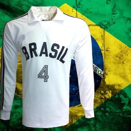 Camisa retrô branca de Volei ML - - Loja Camisas de Futebol Retrô 730383feb609d