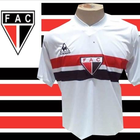 Camisa retrô Camisa retrô Ferroviário Atlético Clube branca le coq ... 52f47c9715d02