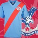 Camisa retrô  Crystal palace  faixa diagonal