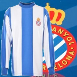 Camisa retrô espanyol de barcelona fc