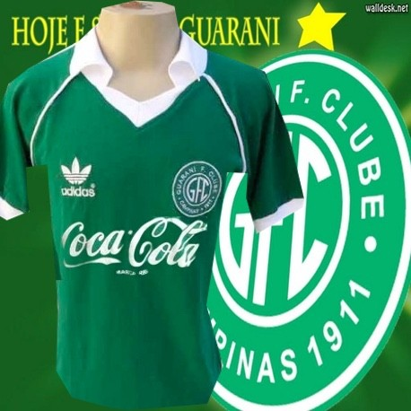 Camisa retro Guarani - 1987 coca cola 1419be6740886