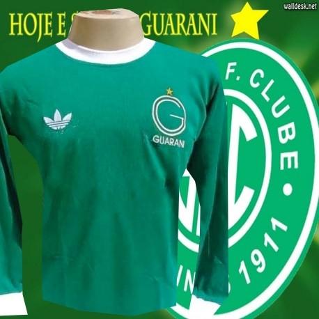 Camisa retrô Guarani gola V ML-1983 65c7548d446e4