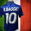 Camisa retrô Italia  Roberto Baggio - 1994