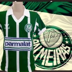 Camisa retrô Goleiro Palmeiras manga curta