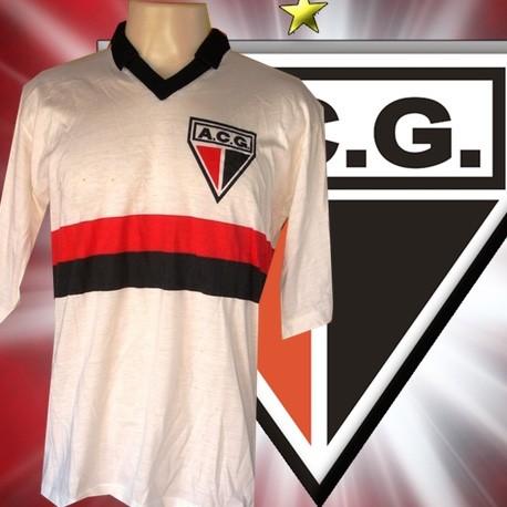 79b528b9fe Camisa retrô Atlético Clube Goianiense ML- 1980