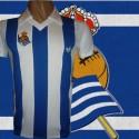 - Camisa retrô Real Sociedad ESP