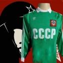 Camisa retrô CCCP  goleiro verde- 1982