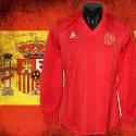 Camisa retrô Espanha le coq ML 1984-86