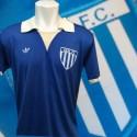 Camisa retrô Avaí  logo azul  gola polo-1980
