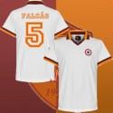 Camisa retrô  AS Roma Falcão branca  - ITA