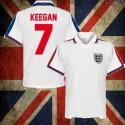 Camisa retrô  Inglaterra Keegan -ENG