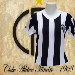 Camisa retrô Baby look Atlético Mineiro