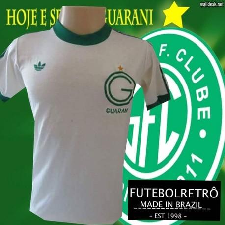 Camisa retro Guarani logo - 1978 branca 4ccc3c4baa1b2