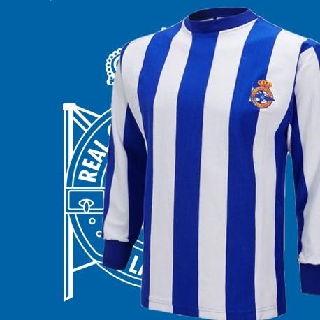 b9e276d1f Camisa retrô Desportivo la Coruna ML- ESP