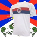 Camisa retrô  Tibet  branca