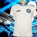 Camisa retrô Grêmio Olympikus branca  1981.