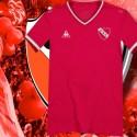 Camisa retrô Independiente  estile Le coq ARG