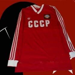 Camisa retrô CCCP manga longa preta