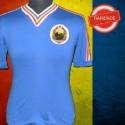 Camisa retrô  Romênia  azul - 1983