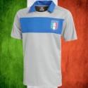 Camisa retrô  goleiro  Italia   cinza