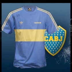 Camisa Retrô Boca Junior 1980 - ARG