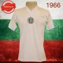 Camisa retrô  Bulgária branca 1966