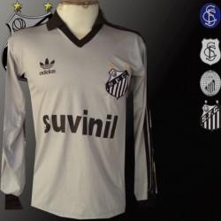 Camisa retro Santos  logo manga longa