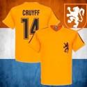 Camisa retrô Holanda Yohan cruyff  - HOL