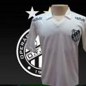 Camisa retrô Operário FC  branca . 1980