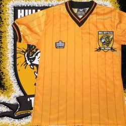 Camisa retrô Hull city