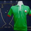 Camisa retrô  Cruzeiro verde 1921