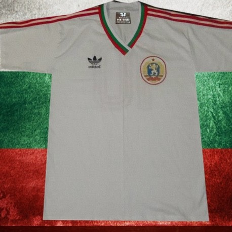 211bb8d98db12 Camisa retrô Bulgária branca 1966