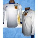 Camisa retrô Argentina branca le Coq ML - 1980