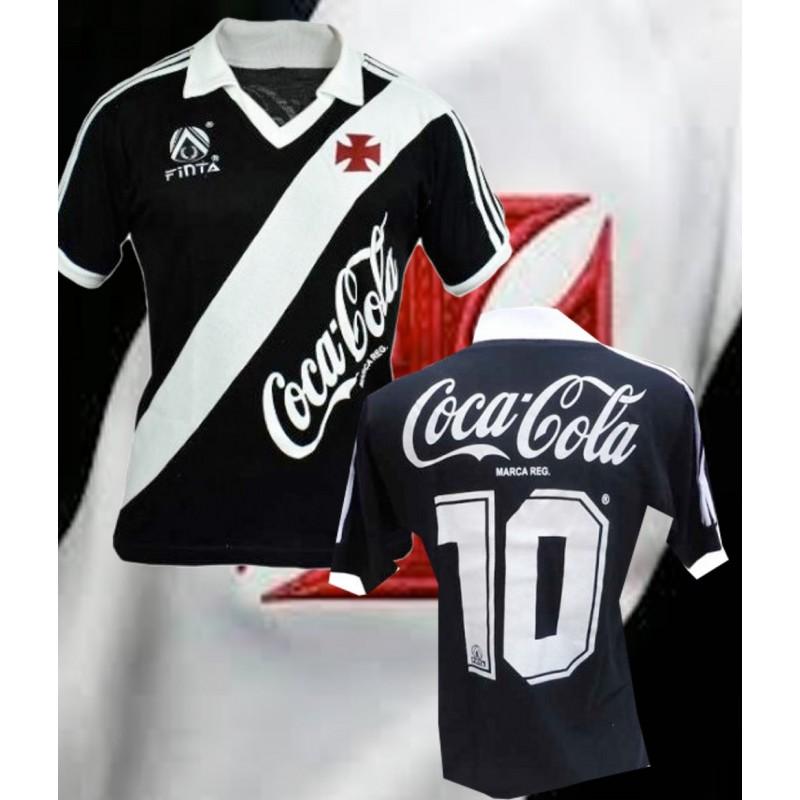 Camisa retrô Vasco da gama 1989 finta Coca Cola ... 10b63f687af96
