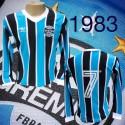 Camisa retrô Grêmio logo ML - 1983