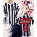 Camisa retrõ Atlético  coca cola costas  - 1986