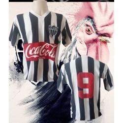 Camisa retrô Atlético Mineiro  Coca Cola frente 1986