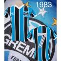 Camisa Grêmio logo listrada   - 1983