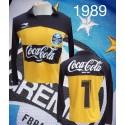 Camisa retrô Grêmio Mazarópi coca cola ML-1989