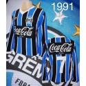 Camisa Grêmio  ML azul escuro 1991 .