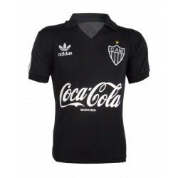 Camisa retrô Atlético mineiro  preta decada de 80
