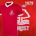 Camisa retrô  Nottingham forest   for ever 1979  - ENG