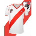 Camisa retrô River Plate logo década de 80 - ARG