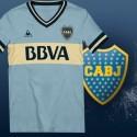 Camisa Retrô Boca Juniors  estile le coq  - ARG