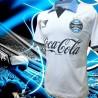Camisa retro Branca gremio coca cola