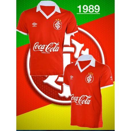Camisa retro inter  vermelha coca cola