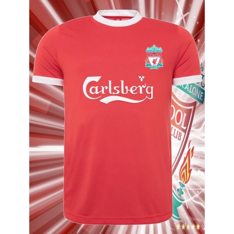 864fa39d3d Camisa retrô Liverpool 1978 branca away ...