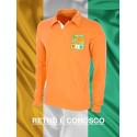 Camisa retrô  Costa do Marfim laranja ML