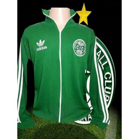 Jaqueta retrô verde Coritiba