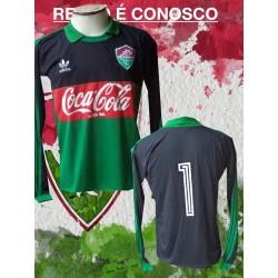 Camisa retrô Fluminense branca  le coq sportif